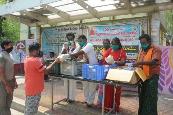 31 annadhanam food distribution in covid time